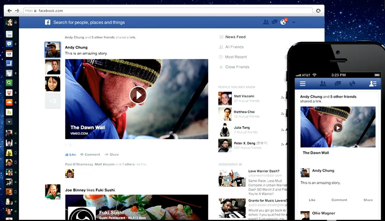 Как сделать дизайн для facebook